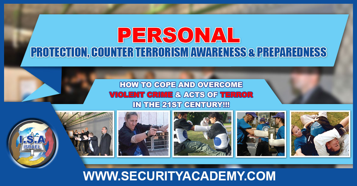 PERSONAL, Protection and Counter Terrorism Awareness and Preparedness
