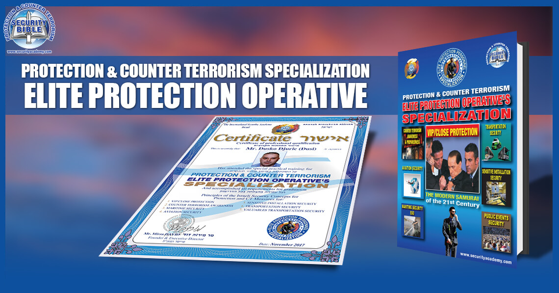 STAGE 1 - PROTECTION AND COUNTER TERRORRISM – ELITE PROTECTION ...